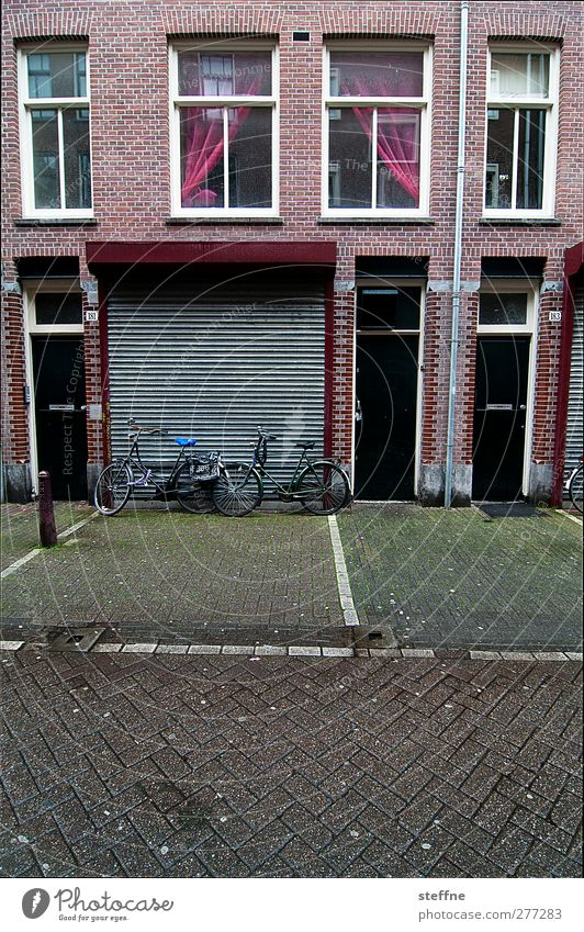 Without Holland we drive to Chamancinco ... Amsterdam Netherlands Downtown Outskirts Deserted House (Residential Structure) Facade Window Door Street