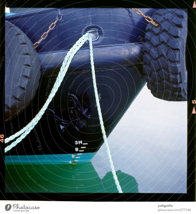 Water Calm Rope Harbour Navigation Tire Anchor Fishing boat Passenger ship