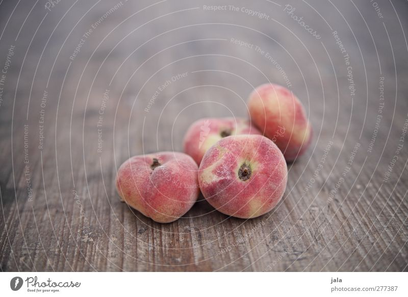 fine wild Food Fruit Peach Nutrition Organic produce Vegetarian diet Healthy Delicious Natural Wooden table Healthy Eating Vitamin Colour photo Exterior shot