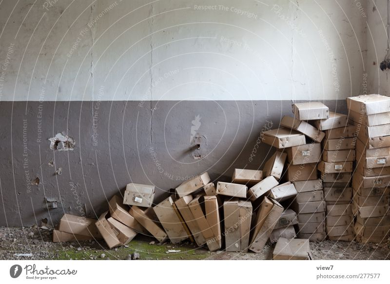 Old Loneliness Far-off places Wall (building) Interior design Wall (barrier) Brown Living or residing Arrangement Dirty Authentic Beginning Simple Retro Transience Uniqueness