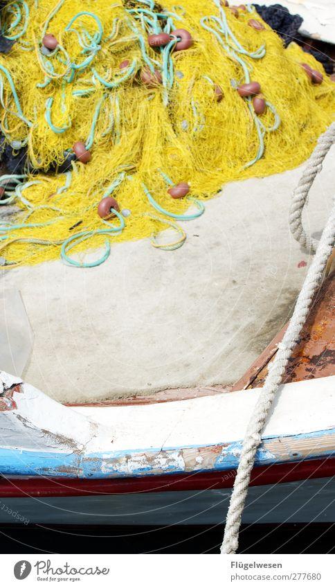 Net Section of image Fishery Fishing boat Fishing net Ship's side