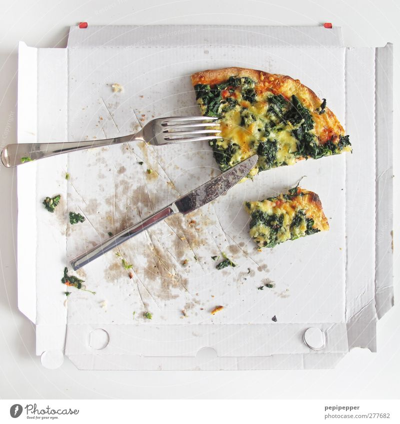 Eating Food Nutrition Vegetable Herbs and spices Lunch Baked goods Cheese Dough Pizza Fork Spoon Fast food Finger food Slow food Italian Food