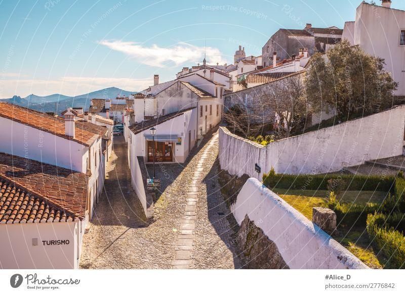 Vacation & Travel Town White House (Residential Structure) Street Architecture Wall (building) Tourism Wall (barrier) Europe Idyll Authentic Romance Historic