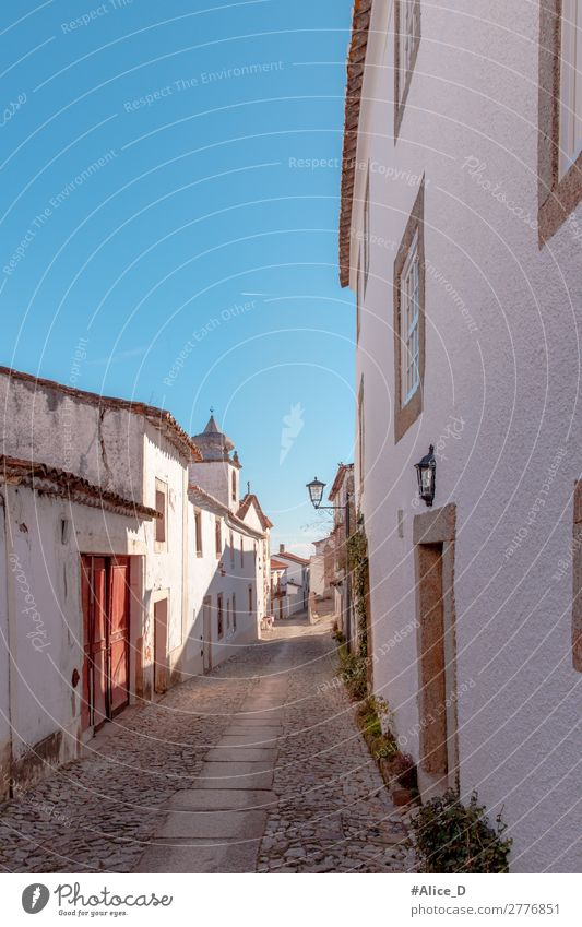 Medieval Village Marvao in Alentejo Portugal Vacation & Travel Europe Small Town Deserted House (Residential Structure) Architecture Tourist Attraction Old