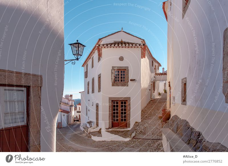 Medieval village Marvao in Alentejo Portugal Vacation & Travel Europe Village Small Town House (Residential Structure) Architecture Facade Window Door