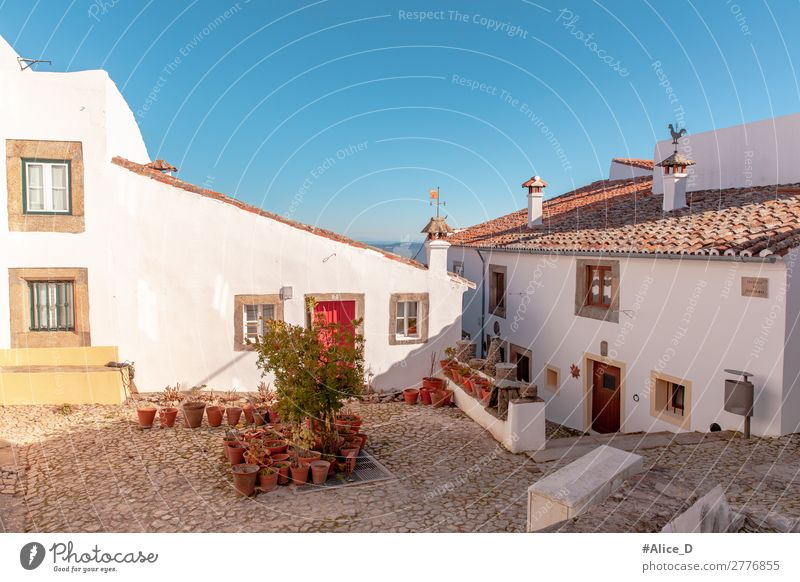 Medieval village Marvao in Alentejo Portugal Vacation & Travel Living or residing Europe Village Small Town Old town House (Residential Structure) Architecture