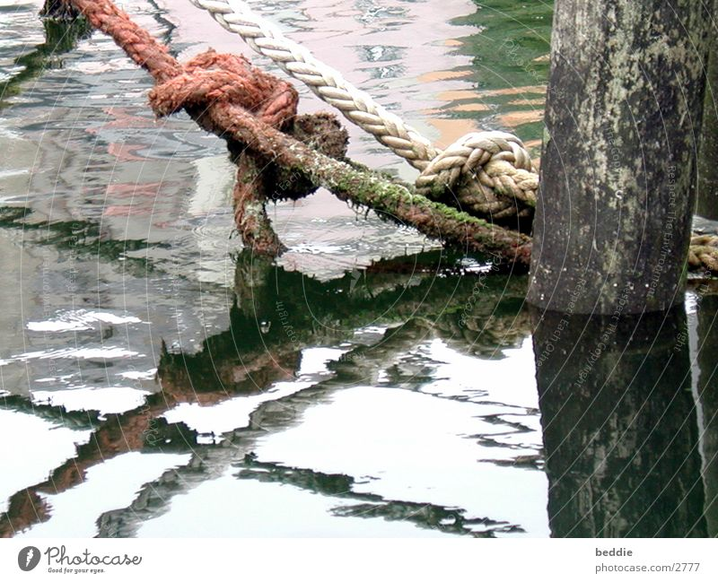 Water Watercraft Rope Footbridge Historic Bind fast