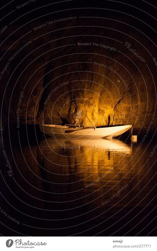 Water Ocean Dark Lake Rock Exceptional Bay Underground Fishing boat Boating trip
