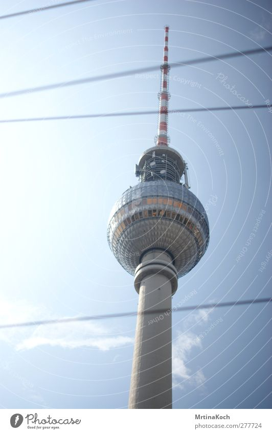 berlin. Berlin Town Capital city Downtown Deserted Tower Manmade structures Building Architecture Wall (barrier) Wall (building) Facade Antenna