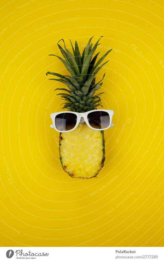 #A# AnaYellow Art Esthetic Pineapple Ananas leaves Pineaple platation Eyeglasses Saftey goggles Sunglasses Cool (slang) Comic Joy Comical Funster