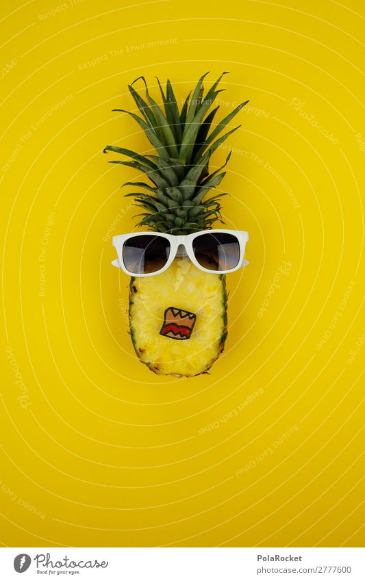 #A# Hellás! Art Work of art Esthetic Pineapple Ananas leaves Pineaple platation Delicious Brash Fruit Fruity Fertile Funny Comic Cool (slang) Healthy Eating