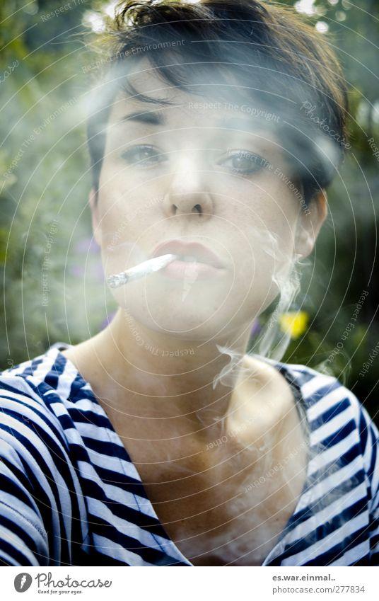 Calm Feminine Dream Authentic Smoking Serene