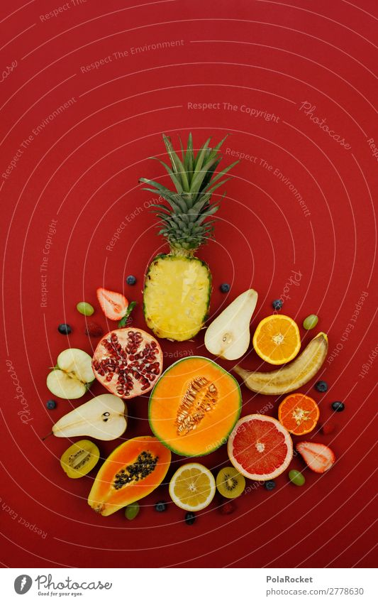 #A# Vitamin Diversity Art Work of art Esthetic Kitsch Fruit Fruit garden Fruit salad Fruit store Fruit cake Vitamin-rich Delicious Healthy Eating