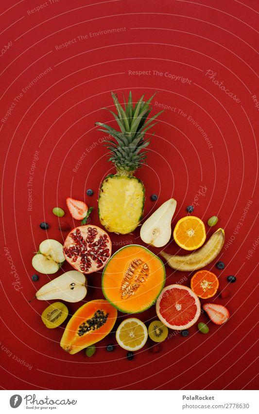 #A# Vitamin Diversity Art Work of art Esthetic Kitsch Fruit Fruit garden Fruit salad Fruit store Fruit cake Vitamin-rich Delicious Healthy Eating