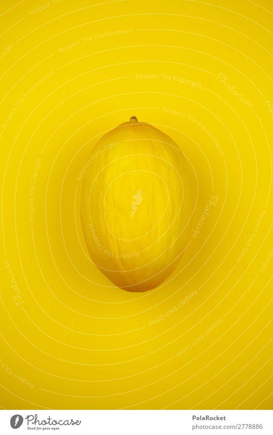 #A# honey yellow melon Art Esthetic Fruit Food Honeydew Melon Yellow Decent Fruity Fruit store Colour photo Multicoloured Interior shot Studio shot Close-up