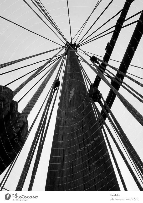 Ropes 2 Sailing Ocean Watercraft Historic Electricity pylon