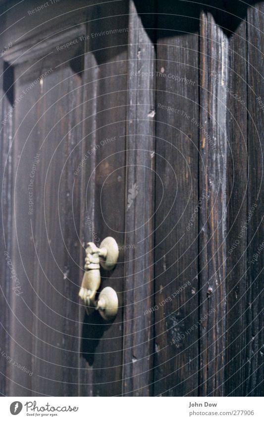 Hand Wood Door Fantastic Analog Exotic Fairy tale Door handle Greece Front door Knock Appealing Knob Doorframe Knocker