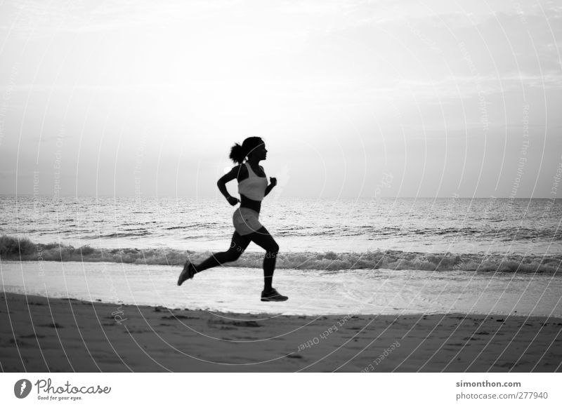 jogged Beautiful Body Healthy Athletic Fitness Life Leisure and hobbies Vacation & Travel Far-off places Freedom Summer Summer vacation Sun Beach Ocean Island