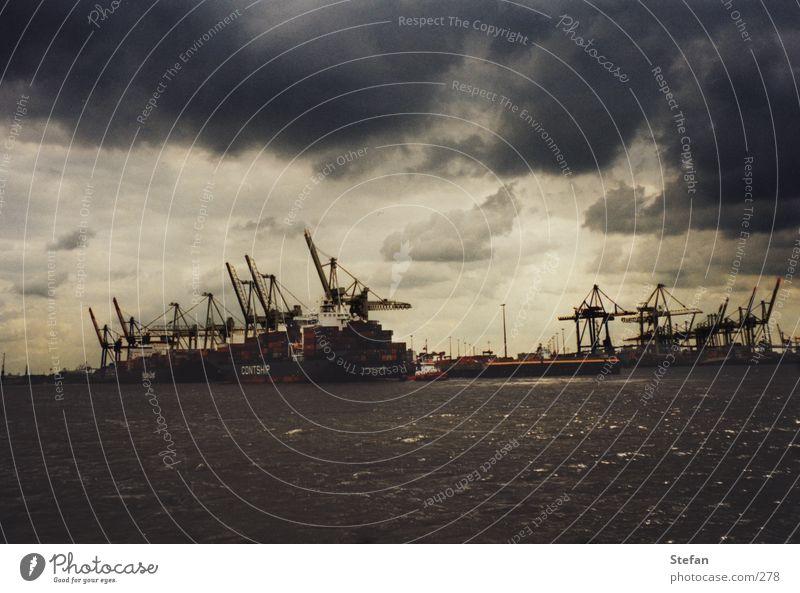 Watercraft Hamburg Transport Industry Harbour Trade