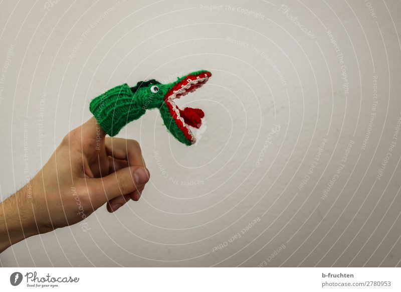 bites Joy Entertainment Hand Fingers Puppet theater Shows Toys Doll Select To hold on Green Bite Muzzle Crocodile Playing Open Mouth open Finger puppet To feed