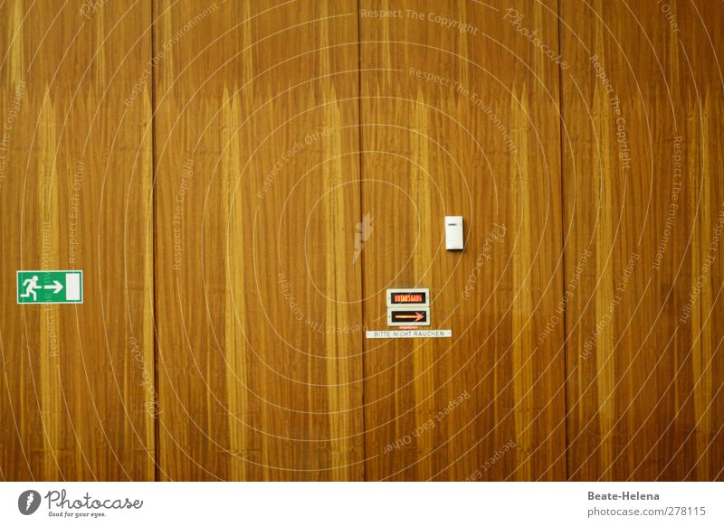 Green White Wall (building) Wood Architecture Wall (barrier) School Interior design Brown Exceptional Large Signs and labeling Signage Education Arrow