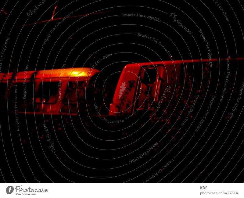 Red Yellow Dark Door Railroad Bushes Bremen Eerie