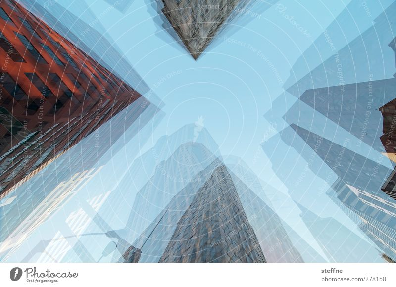linchpin St. Louis USA Town Downtown Skyline High-rise Esthetic Double exposure Colour photo Multicoloured Exterior shot Experimental Abstract Pattern