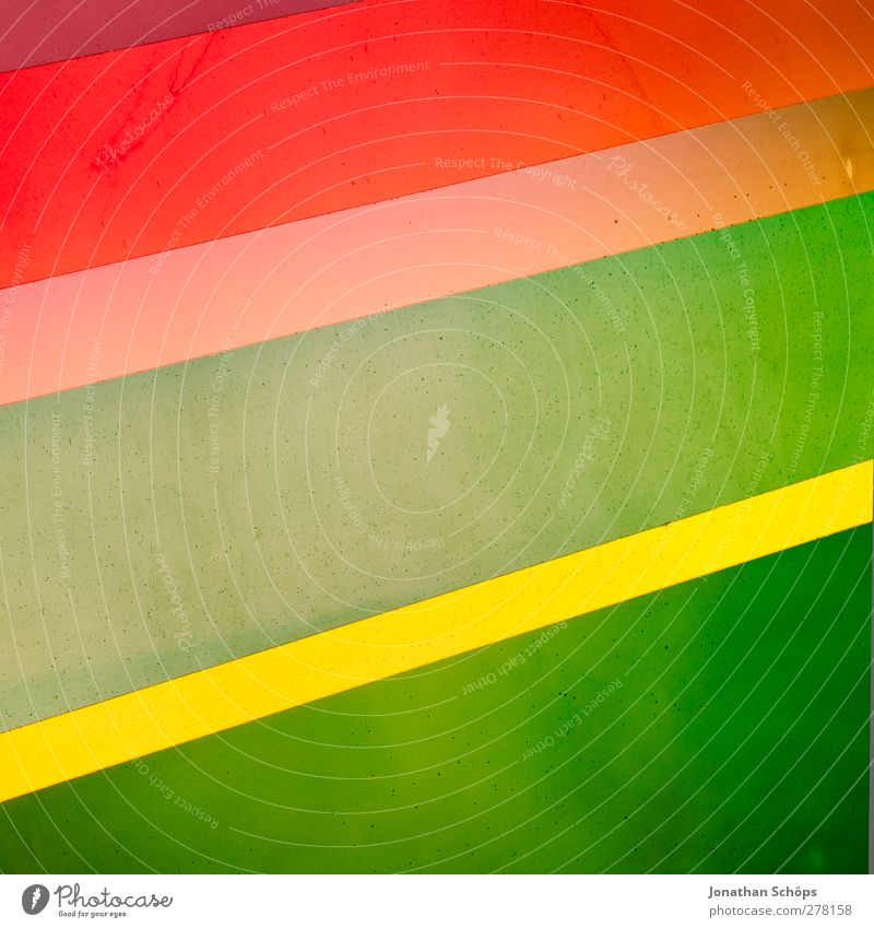 Green Beautiful Red Yellow Line Art Background picture Illuminate Esthetic Stripe Simple Tilt Square Window pane Geometry Go up