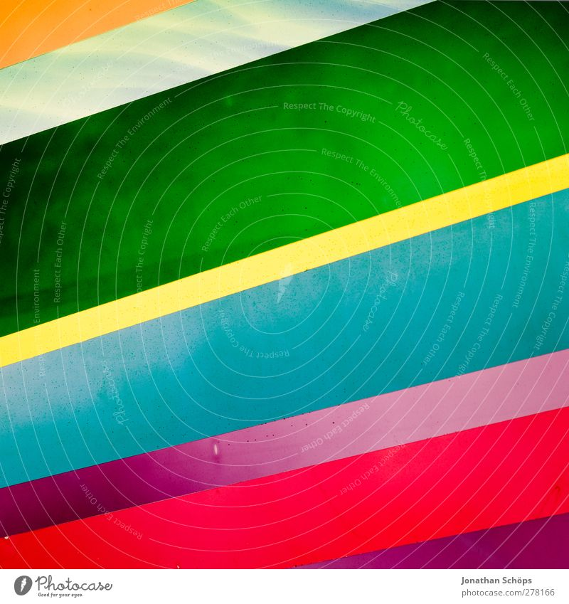 Green Red Yellow Line Art Background picture Orange Pink Illuminate Esthetic Stripe Simple Tilt Turquoise Square Geometry