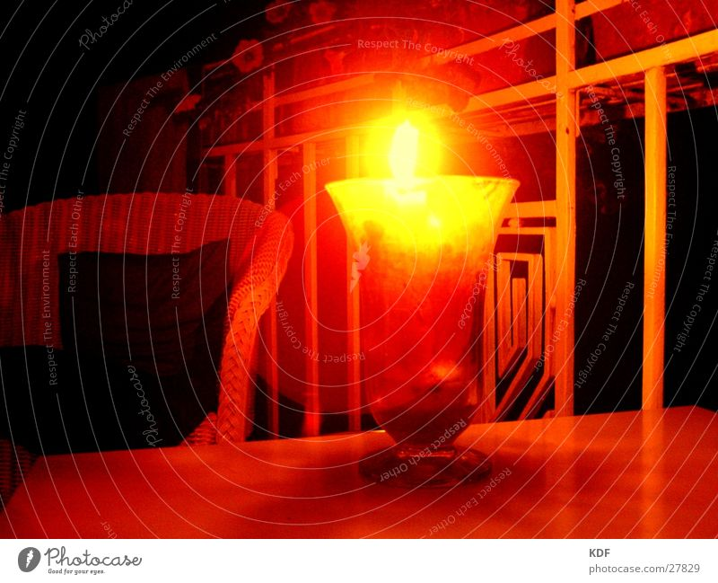 still life Still Life Candle Night Yellow Physics Long exposure Free space Chair Sit Lamp KDF Warmth
