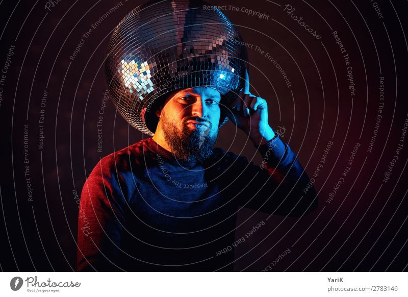 Human being Youth (Young adults) Man Blue Young man Red 18 - 30 years Adults Feasts & Celebrations Going Masculine Orange Kitsch Hat End Hide