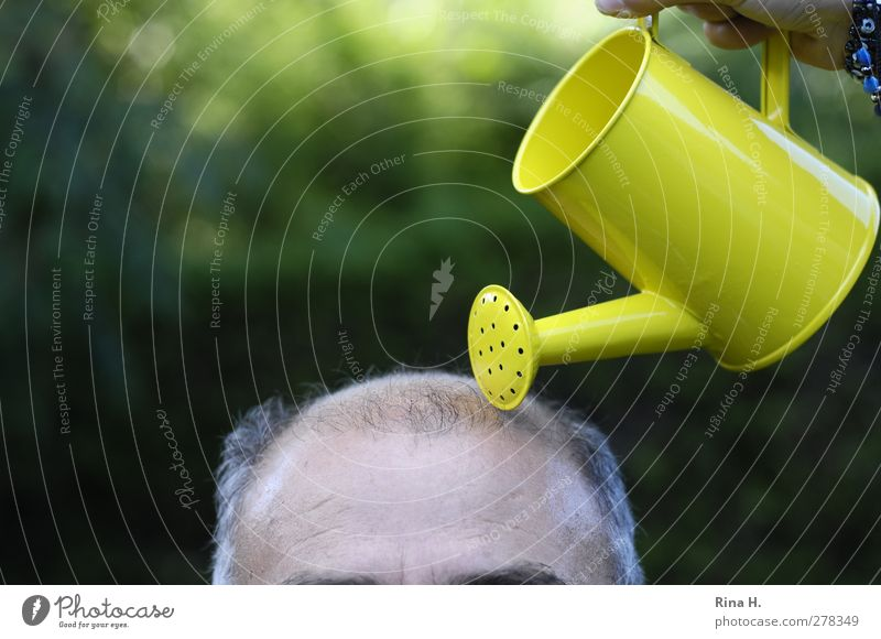 the last try Medical treatment Life Masculine Man Adults Male senior Senior citizen Skin Head Hair and hairstyles 60 years and older Bald or shaved head