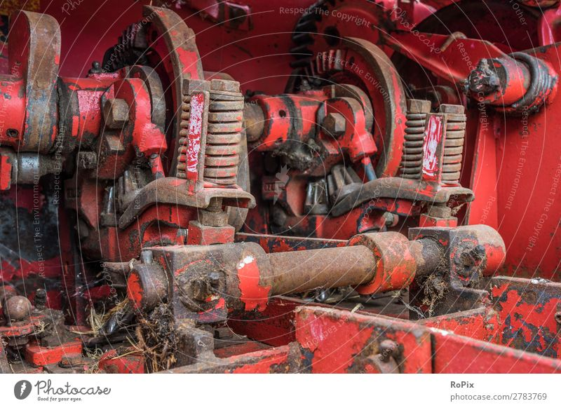 hay baler Work and employment Craftsperson Agriculture Forestry Industry Hardware Machinery Construction machinery Gear unit Technology Science & Research