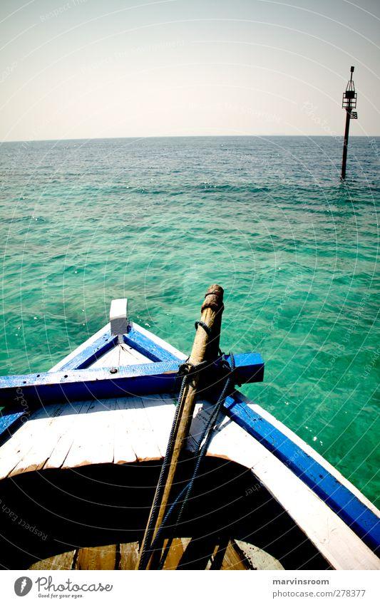 the departure Nature Water Ocean Island Adventure Bay Sail Fishing boat Boating trip