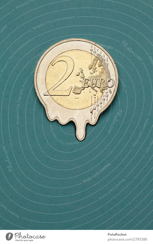 #A# 2-euro inflation Art Work of art Esthetic Euro Euro symbol Coin Money Financial Crisis Financial institution Donation Financial difficulty Monetary capital
