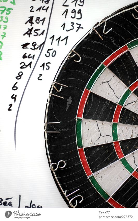 White Red Black Playing Happy Leisure and hobbies Success Esthetic Digits and numbers Cardboard Agree Lose Precision Talented Darts Dartboard