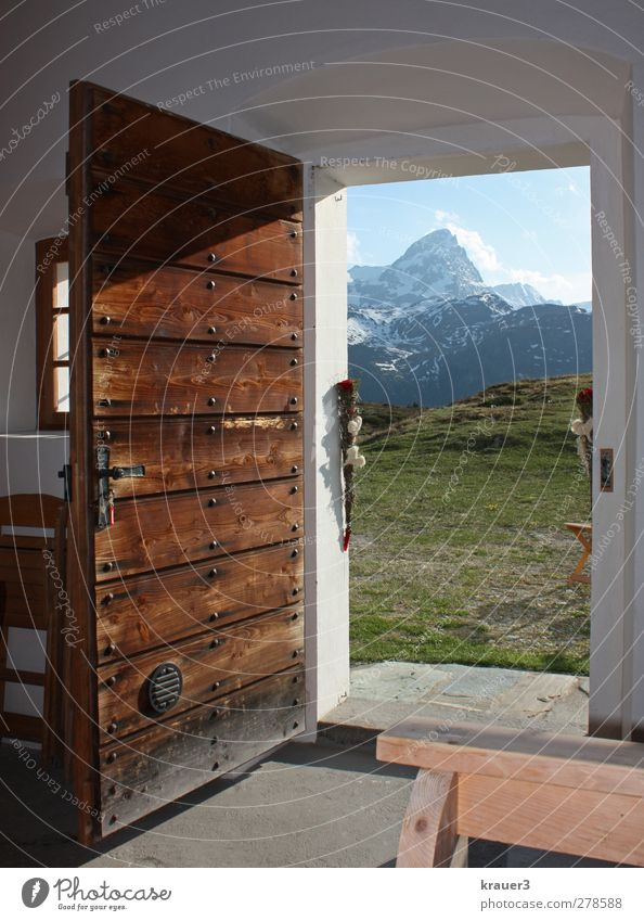 Mountain Happy Feasts & Celebrations Contentment Wedding Happiness Beautiful weather Alps