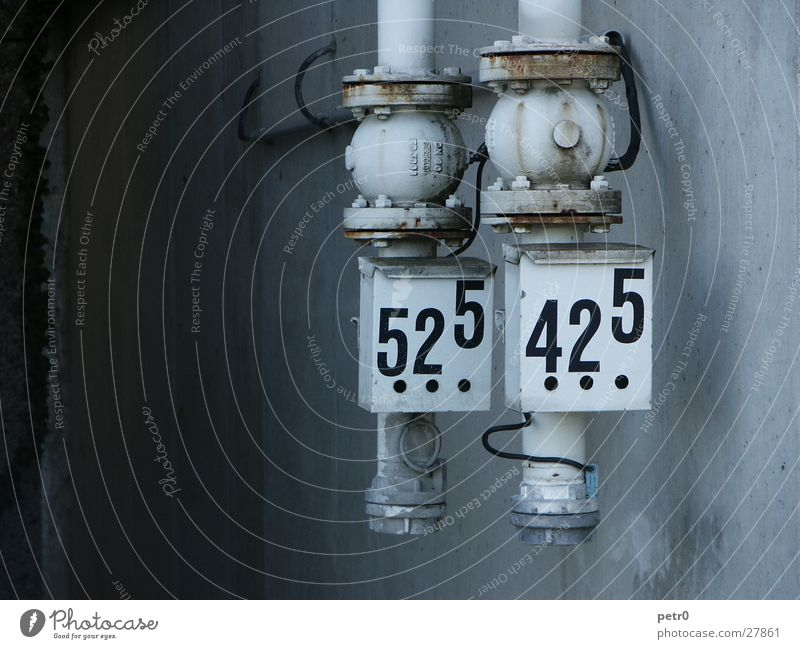 Dark Wall (building) Gray Bright Industry Digits and numbers Pressure Hose Pump