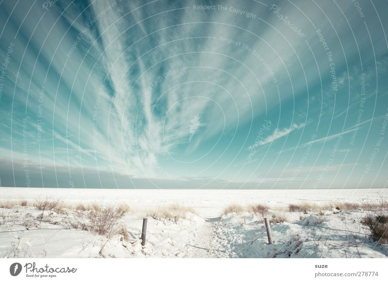 Sky Nature Blue White Ocean Beach Clouds Winter Landscape Environment Cold Snow Lanes & trails Coast Bright Air