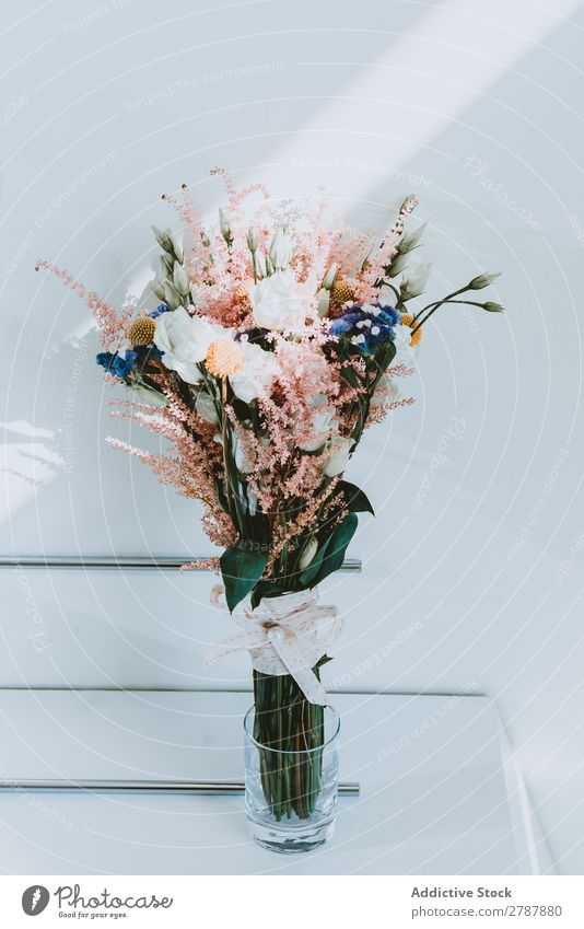 Wonderful fresh flowers in vase Flower Vase Bouquet Fresh Beautiful Floral Aromatic