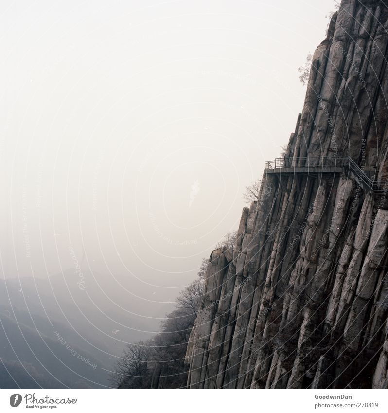 Nature Environment Dark Mountain Autumn Moody Rock Exceptional Authentic Gloomy Infinity Sharp-edged Canyon Gigantic