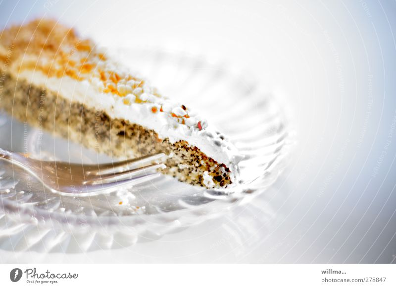 Nutrition Sweet To enjoy Appetite Delicious Cake Plate Debauchery To have a coffee Pastry fork Glas plate Nut cracknel