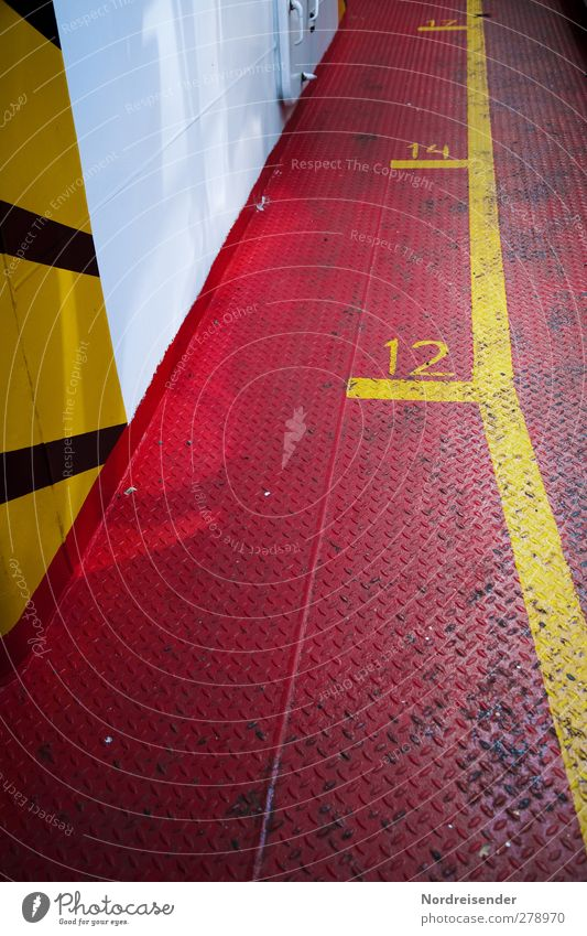 White Red Colour Yellow Metal Line Signs and labeling Stripe Planning Safety Digits and numbers Logistics Sign Navigation Steel Mobility