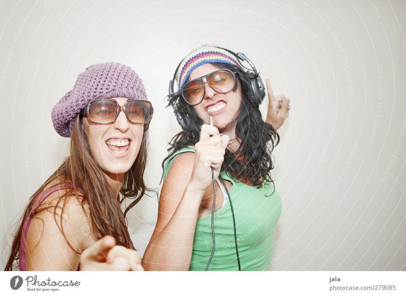 Human being Woman Joy Adults Feminine Emotions Happy Wild Happiness Joie de vivre (Vitality) Hip & trendy 30 - 45 years