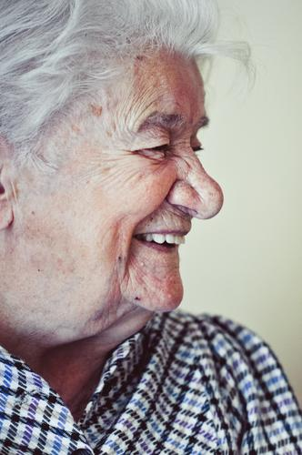 100 Feminine Female senior Woman Grandmother Senior citizen Face Human being 60 years and older Old Laughter Authentic Friendliness Happiness Healthy Happy