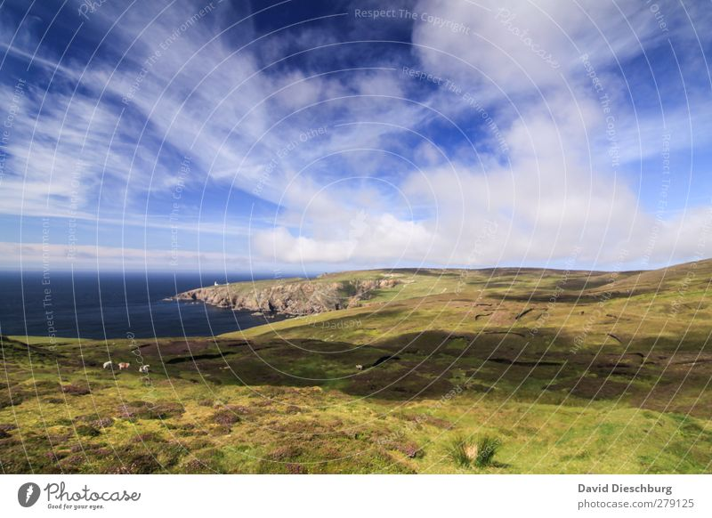"""""""Pure Ireland"""" Vacation & Travel Adventure Ocean Island Mountain Hiking Nature Landscape Water Sky Clouds Spring Summer Autumn Beautiful weather Plant Grass"""