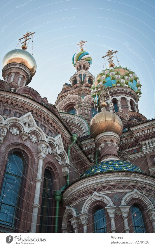 Architecture Building Exceptional Church Tower Manmade structures Belief Historic Monument Landmark Tourist Attraction Port City St. Petersburgh Onion tower