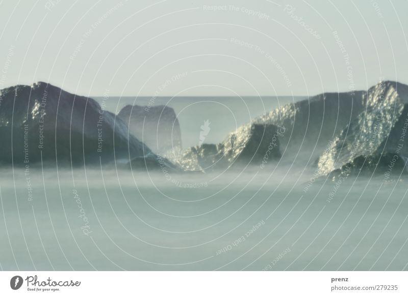 Sky Nature Water Ocean Landscape Environment Coast Gray Horizon Rock Fog Baltic Sea Shroud of fog