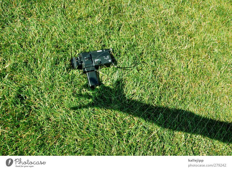 Nature Green Hand Meadow Fingers Technology Camera Film Stop Video camera Grasp Camera-man Entertainment electronics