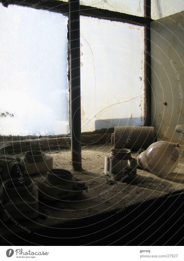 Old Calm Window Technology Still Life Electric bulb Dust Bracket Electrical equipment Shut down